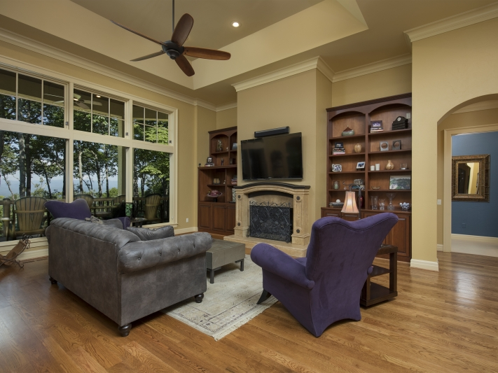 Luxury Home Family Room