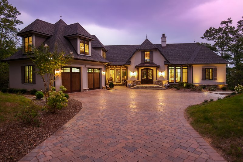 Front Exterior Twilight